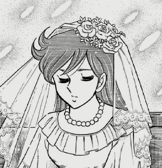 コミック18巻のウェディングドレスの高嶺菊